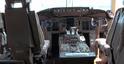 To kokpit Boeinga 757 należącego do Donalda Trumpa. Piloci mają tu wszystko, czego potrzebują.