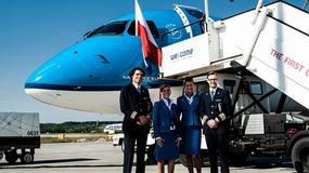 Otwarcie trasy Kraków-Amsterdam - KLM wylądował w Krakowie