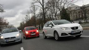 Seat Ibiza kontra Fiat Grande Punto i Toyota Yaris. Czy Ibiza jest lepsza od konkurentów?