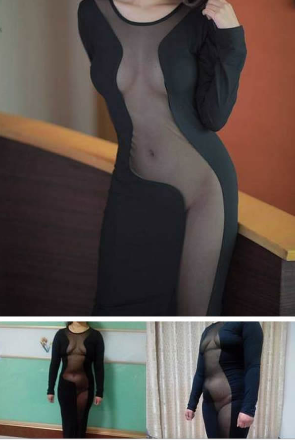 Seksi haljina uživo ne deluje nimalo privlačno