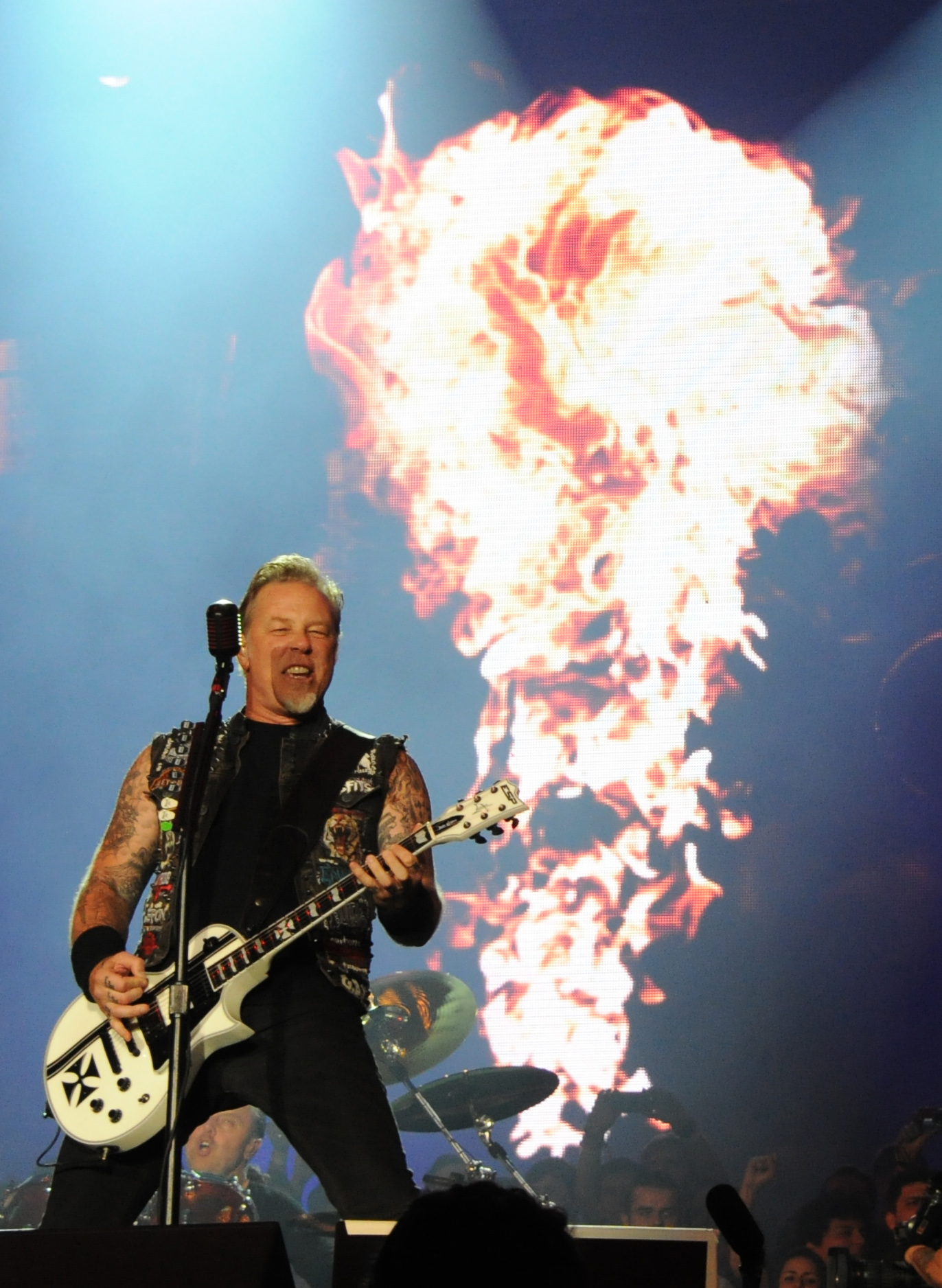 James Hetfield /Fotó: AFP