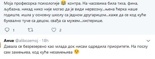 Tvit vaspitačice zapalio srpski Tviter