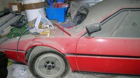 Zapominane BMW M1 odnalezione po latach