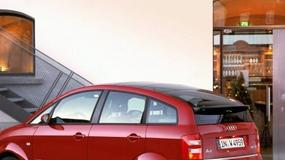 Audi A2 1.4, Mercedes A 140 Classic, Skoda Fabia, Toyota Yaris Verso - Drogowskazy