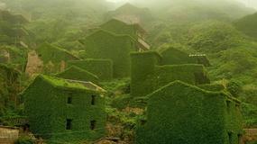 Piękna opuszczona wioska duchów na chińskiej wyspie Gouqi