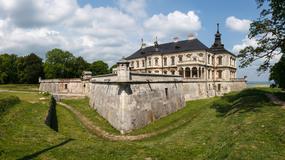 Podhorce - zamek Koniecpolskich na zdjęciach współczesnych i archiwalnych