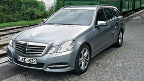 Mercedes E 350 CDI - Egzemplarz spod pechowej gwiazdy