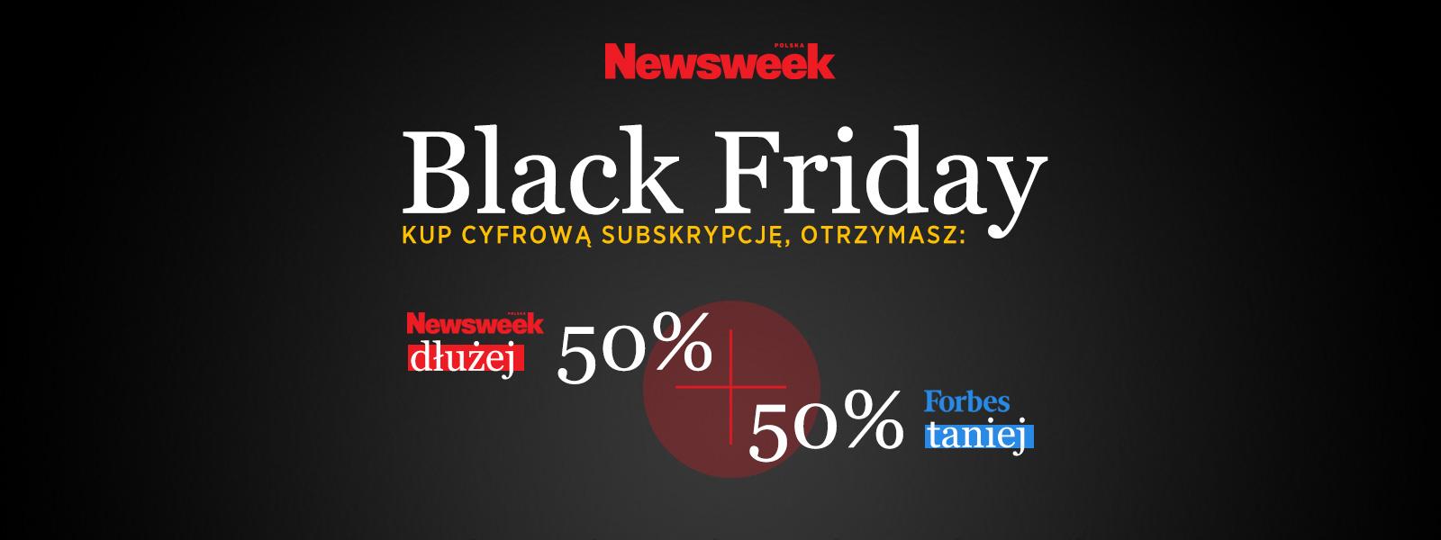 """Subskrypcja plus, czyli Black Friday z """"Newsweekiem"""