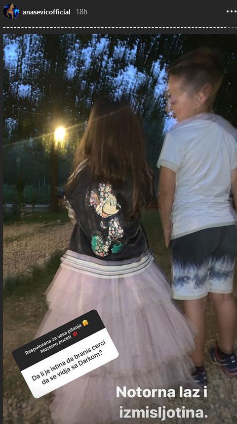 Ana Sević o Darku Laziću