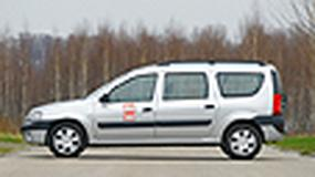 Dacia Logan MCV 1.6 - Praktyczność w standardzie