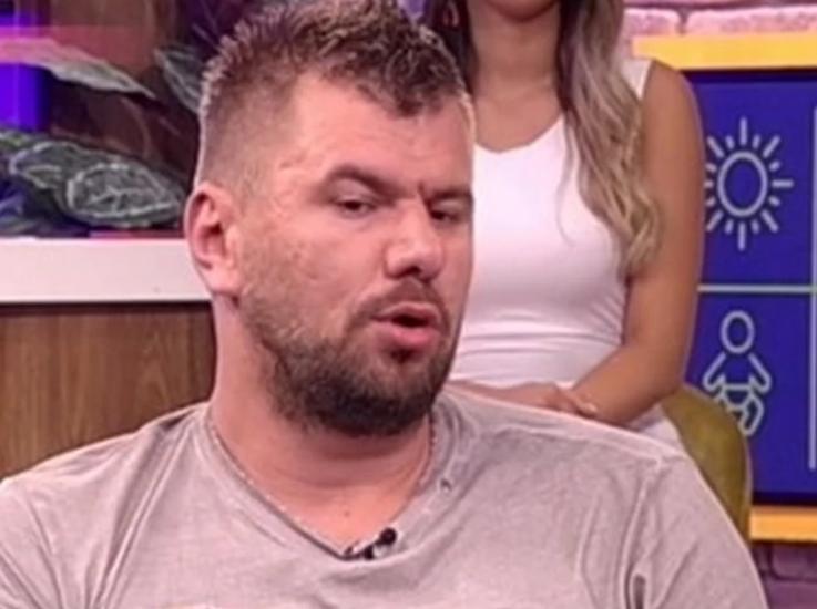 Janjušu u emisiji pokazali fotku GOLIŠAVE SUPRUGE ENE, dok je slika nepoznati muškarac, OVO JE BILA NJEGOVA REAKCIJA!