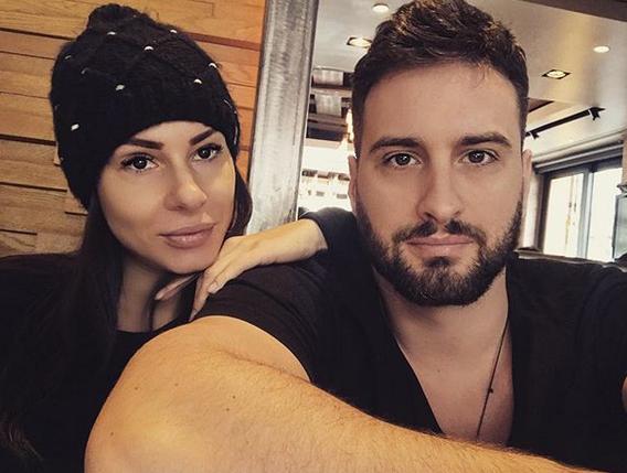 Mia Borisavljević i Bojan Grujić