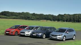 12 cylindrów... i aż 4 auta: Focus, cee'd, Astra i Octavia