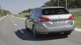 Peugeot 308 SW 1.2 PureTech - Duży kufer, mały silnik