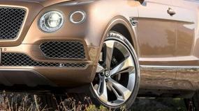 Bentley Bentayga już oficjalnie - trzy razy naj