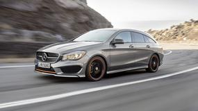 Mercedes CLA Shooting Brake - Mały Benz z happy endem