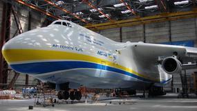 Antonov An-225 - największy samolot transportowy świata, który o mało nie został pogrzebany na kartach historii