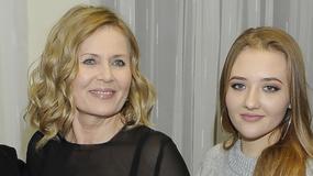 Grażyna Szapołowska promuje wnuczkę na koncercie. Odziedziczyła urodę po babci?