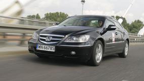 Używana Honda Legend - solidny wóz, choć sporo pali