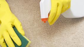Jak usunąć plamy z dywanu - domowe sposoby