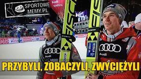 Kamil Stoch zwycięzcą Turnieju Czterech Skoczni, Piotr Żyła drugi – memy
