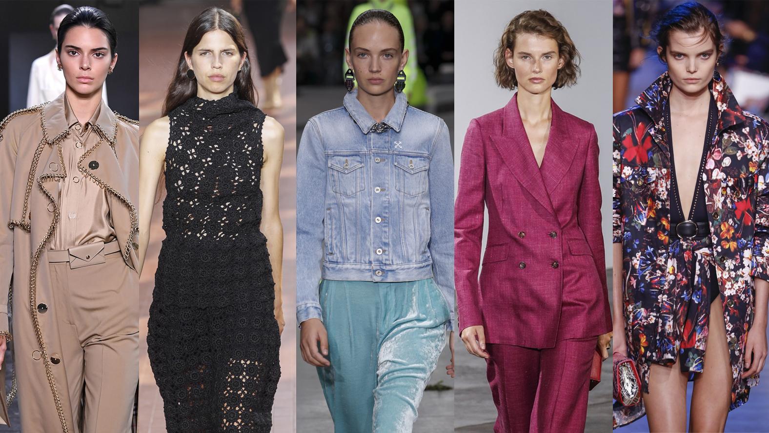 Pięć modnych rzeczy z sezonu wiosna lato 2019, które
