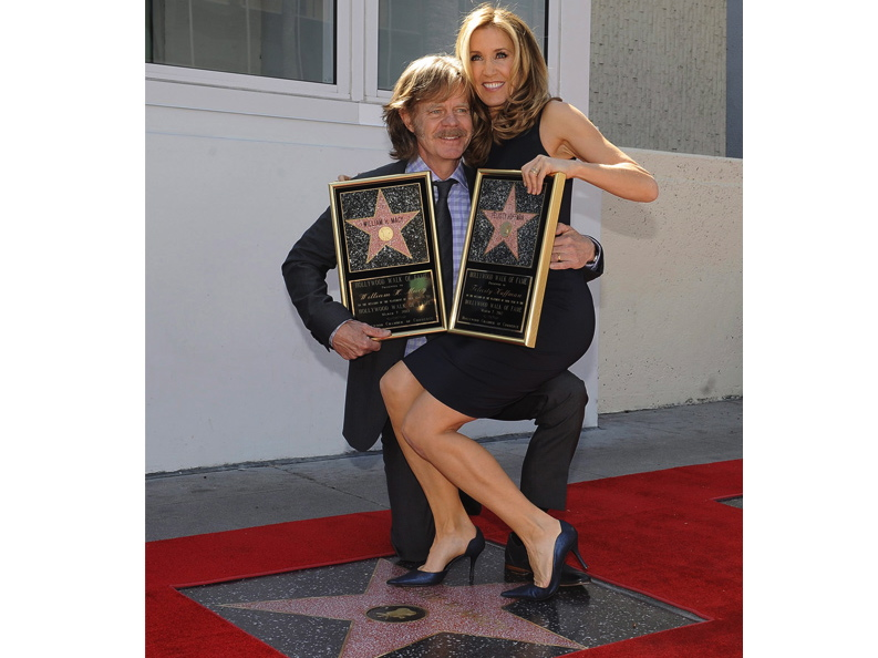 Felicity Huffman i William H. Macy