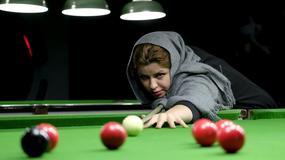Šampionka Irana u snukeru podučava