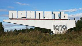 Ukraina - Prypeć - opuszczone miasto