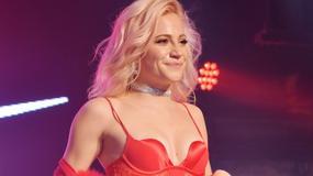 Seksowna Pixie Lott na koncercie w Londynie