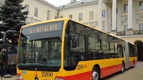 Nowe autobusy Mercedesa w Warszawie
