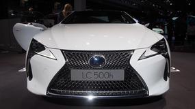 Lexus LC500h - groźne coupe (Targi Paryż 2016)