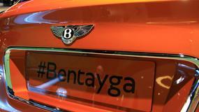 Bentley Bentayga - pierwszy SUV marki już jest! (Frankfurt 2015)