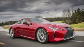 Lexus LC jeszcze mocniejszy