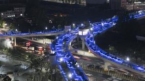 W Seulu przekształcono dawną autostradę w ścieżkę dla pieszych