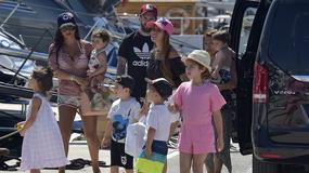 Messi i Fabregas z rodzinami na wakacjach