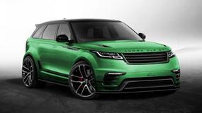 Range Rover Velar – Lumma Design na zielono