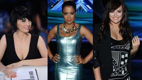 """Okupnik, Farna i Kazadi - trzy piękne kobiety podczas półfinału """"X Factor"""""""