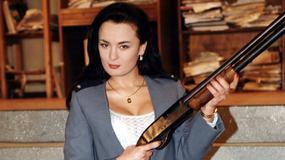 """Joanna Jędrejek kusiła dekoltem w """"13 posterunku"""". Wciąż wygląda jak seksbomba?"""