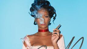 Rihanna z cygarem na okładce CR Fashion Book
