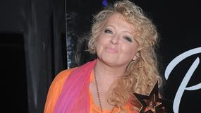 Magda Gessler na imprezie Plejada TOP 10 zaszalała z... kolorem