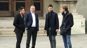 Novak Đoković sa porodicom stigao u Sabornu crkvu, a pogledajte kako izgleda PRELEP SLAVSKI KOLAČ koji su pripremili za Aranđelovdan (VIDEO)