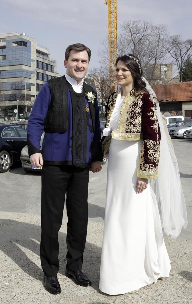 Nikola Selaković i Milica Stojanović