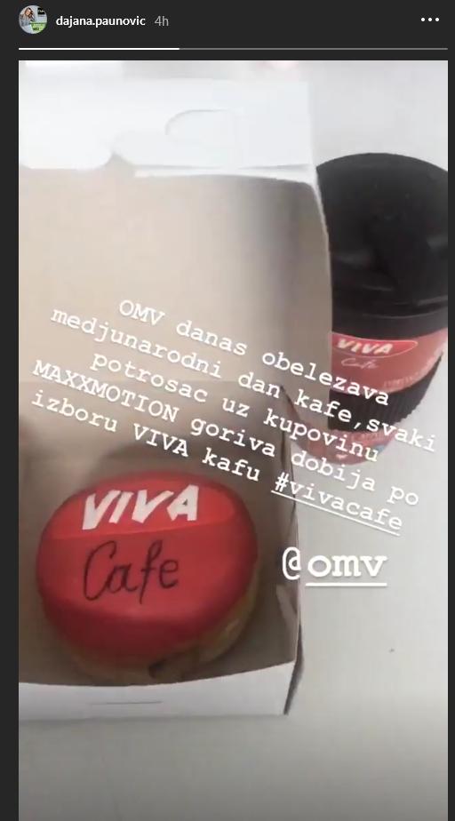 Dajana Paunović proslavila Međunarodni dan kafe