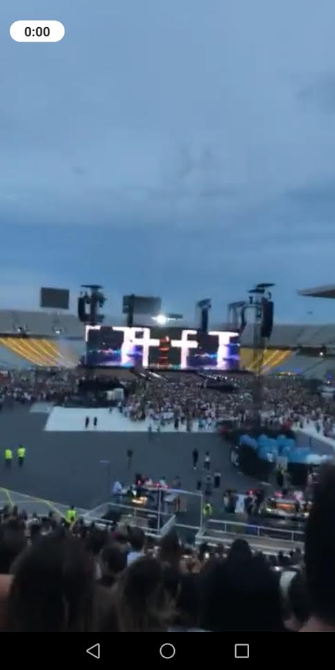 Kija na koncertu Bijonse