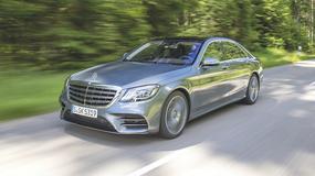 Mercedes klasy S - jeszcze większy luksus
