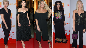 Klaudia Halejcio, Joanna Liszowska i inne gwiazdy w czerni na ramówce Polsatu. Która wypadła najlepiej?