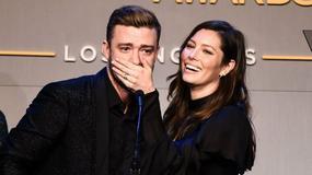 Jessica Biel i Justin Timberlake razem na czerwonym dywanie