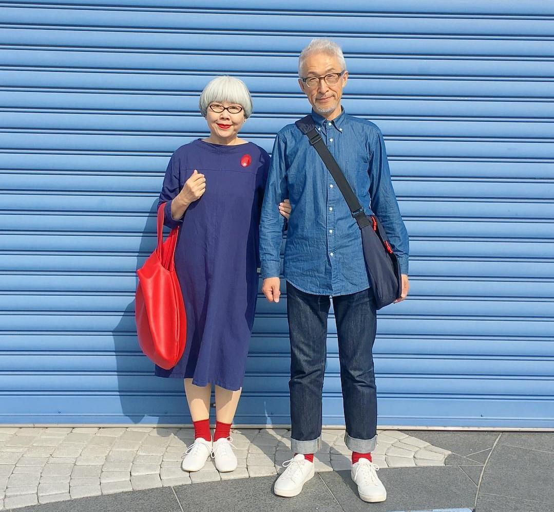 d5c28e64ab5f Bon i Pon najbardziej stylowe małżeństwo z Japonii