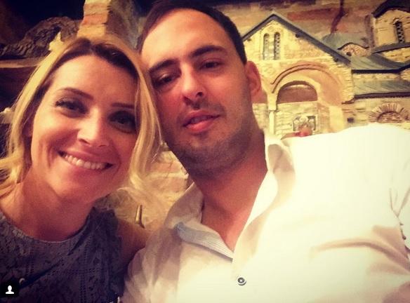 Anđelka Prpić sa suprugom Dariom